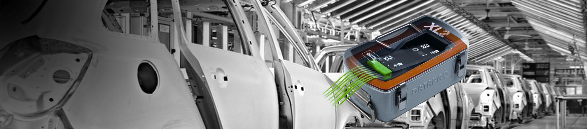XL2 Datenlogger im Einsatz - industrielle Beschichtung