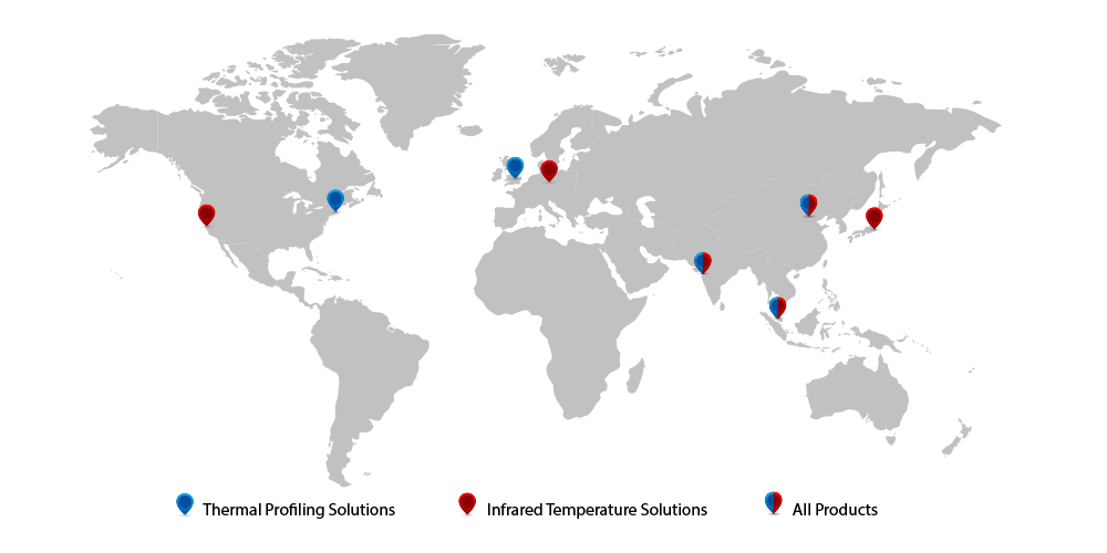 Local offices worldwide map