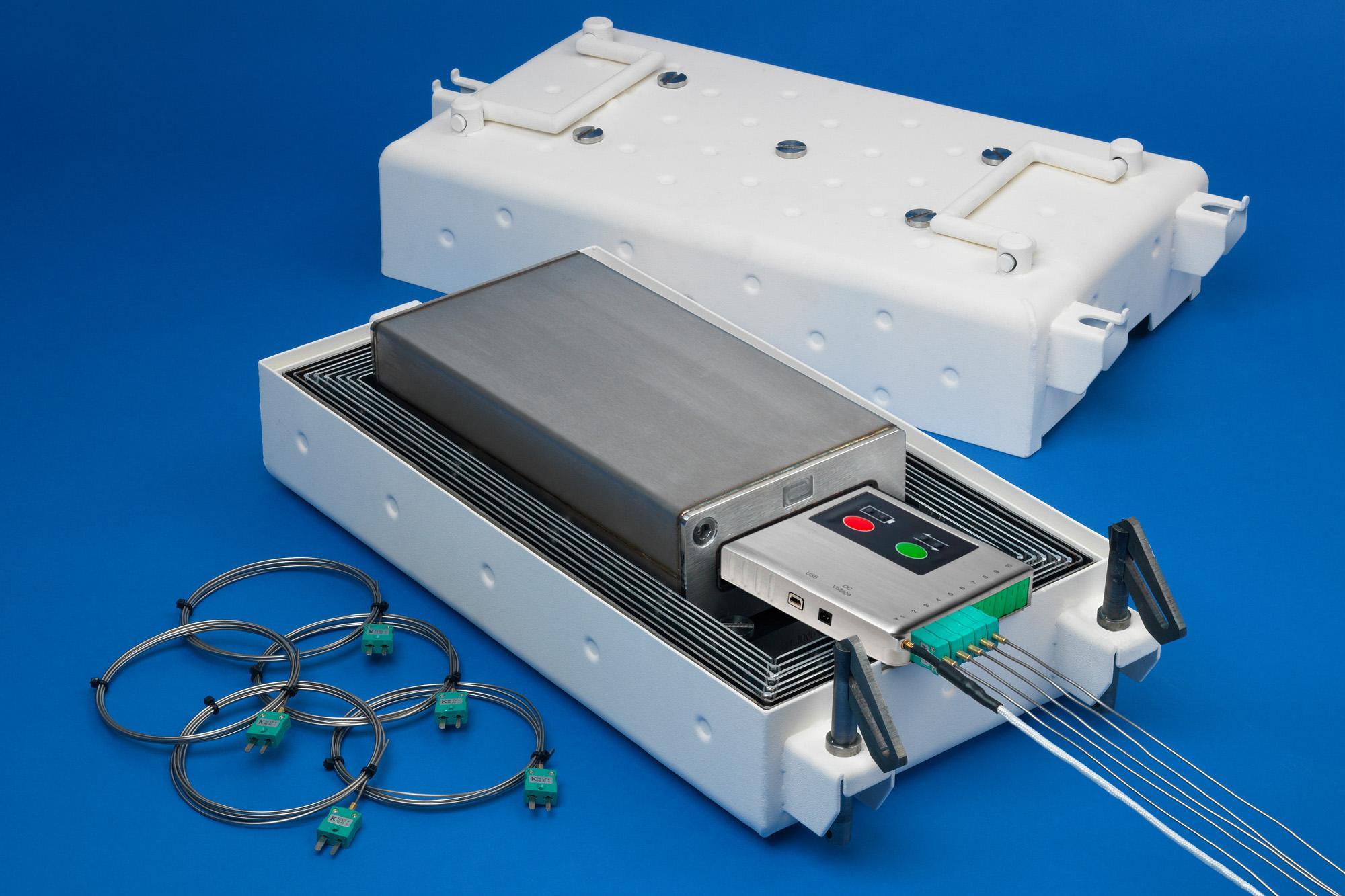 Dedicated temperature profiler for aluminum vacuum brazing furnaces