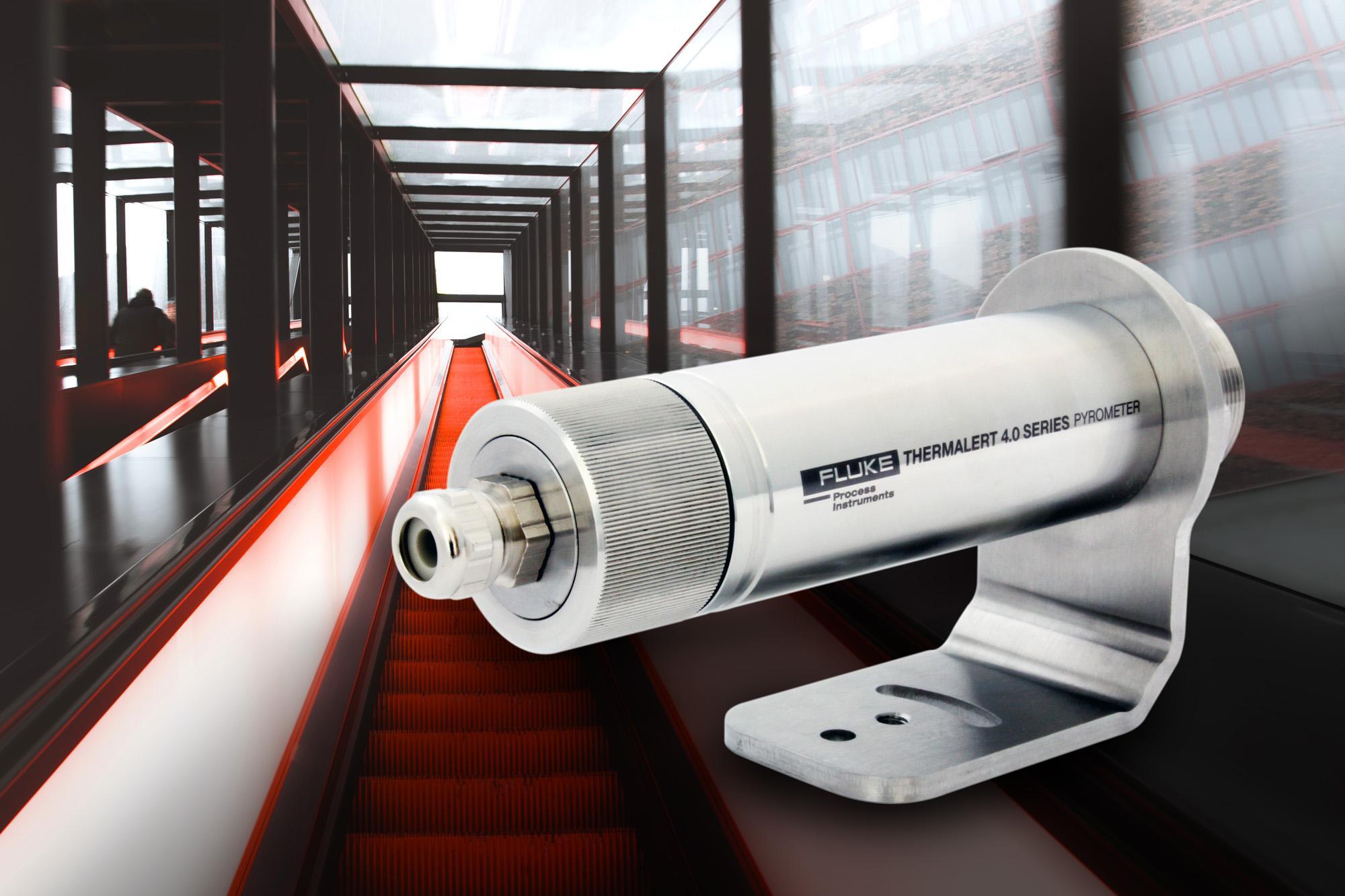 Thermalert 4.0 Pyrometer für den Einsatz in der Glasindustrie