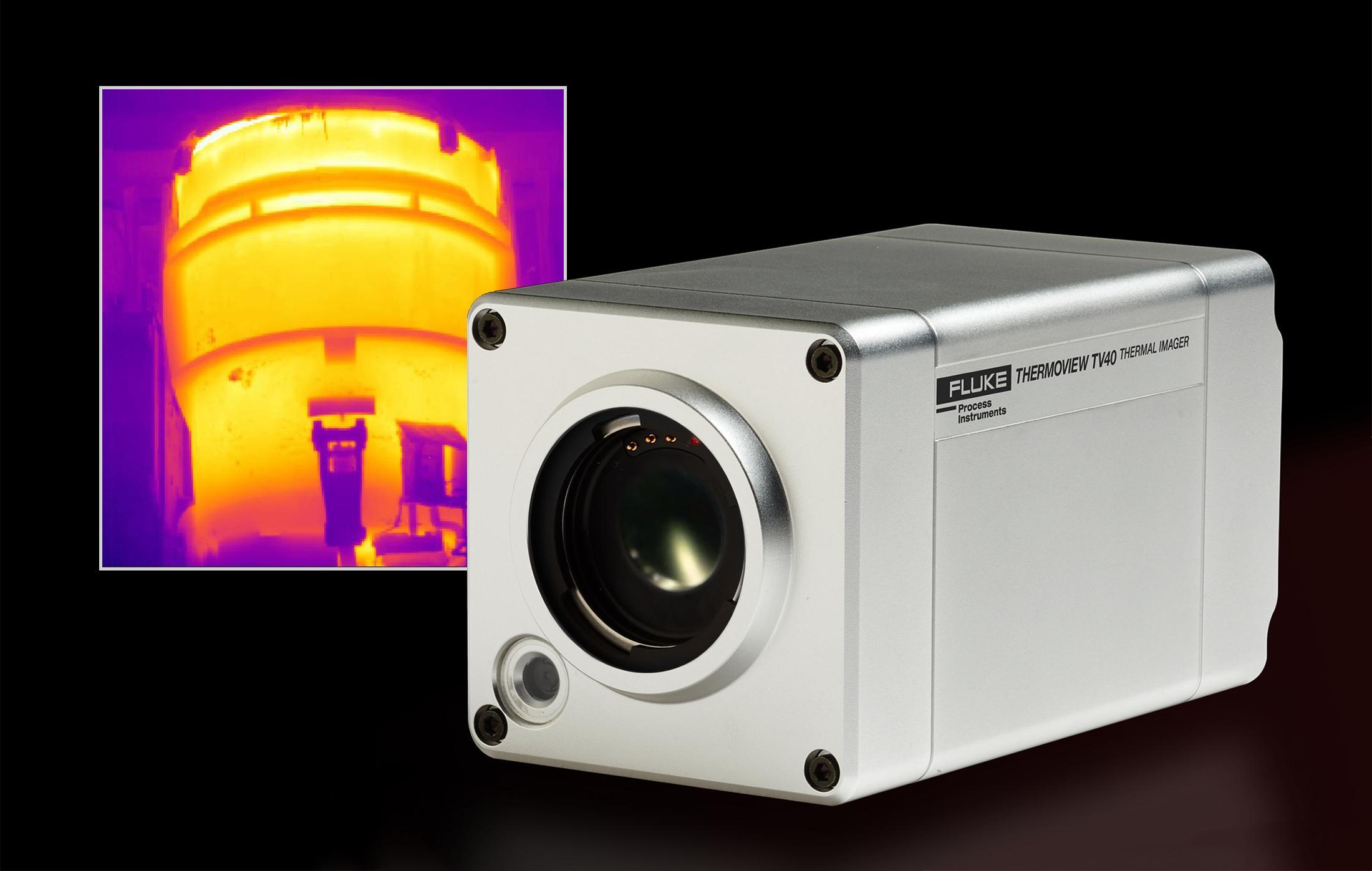 ThermoView TV40 Kamera mit Wärmebild