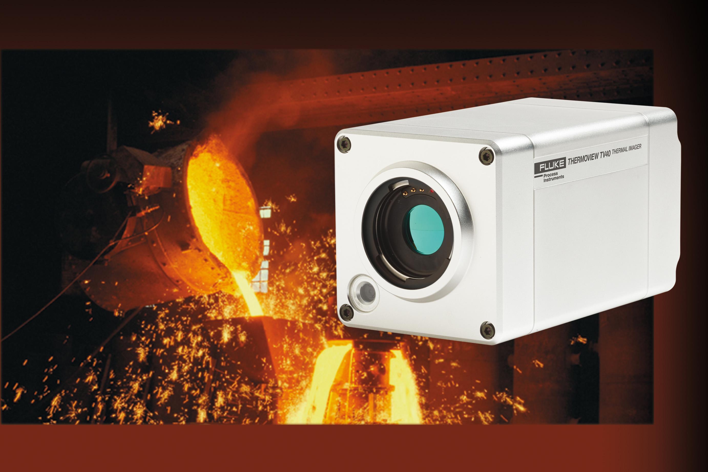 Temperaturüberwachunglösung für die Metall- und Stahlindustrie - ThermoView TV40