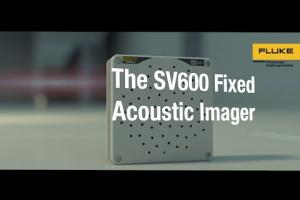 SV600 Fixed Acoustic Imager from Fluke Process Instruments