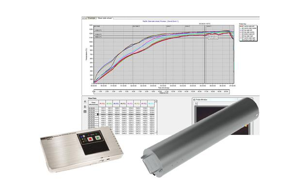 Datapaq furnace tracker rotational barrier
