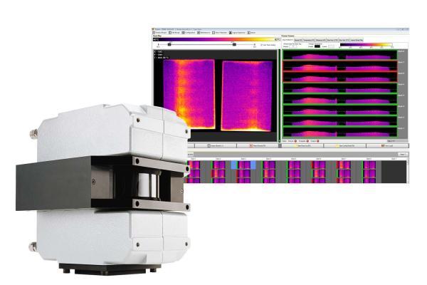 TIP900 Wärmebildsystem für die Gipskartonherstellung