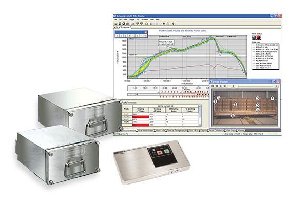 Datapaq Kiln-Tracker-System für Tunnelöfen